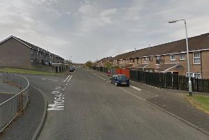 Police have been called to a security alert in the Moss Park area of Londonderry. Pic by Google