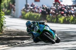 Dean Harrison set the fastest lap during Thursday evenings Senior TT qualifying lap at 131.49mph.