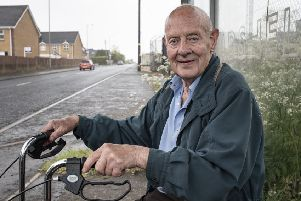 Rowland Savage said his local bus services have been 'a lifeline' since he was forced to give up driving due to eyesight problems.