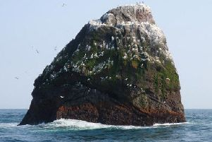 Rockall is a long-disputed territory in the North Atlantic