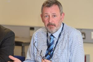 Permanent Secretary Richard Pengelly. 'Pic by Pacemaker