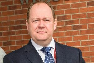 Ulidia principal Michael Houston.