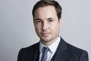 Martin Compston, who stars as DC Steve Arnott in Line of Duty