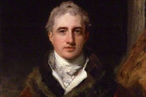 A painting by Sir Thomas Lawrence of Viscount Castlereagh, the man responsible for the passage of the Act of Union through the Irish Parliament