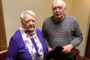 Anne Watson, 79, and David Florida-James, 80, are members of Age NI's consultative forum.