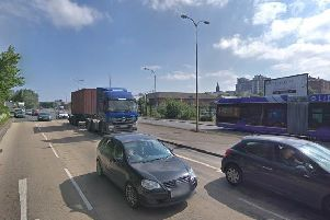 The emergency services are at the scene. (Photo: Google Maps)