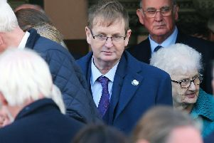 Victims campaigner Willie Frazer at the Shankill Bomb anniversary commemoration in 2018. ''Photo: Jonathan Porter/PressEye