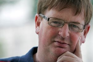 Willie Frazer is critically ill in Craigavon Hospital