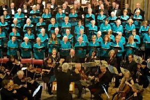 A previous performance by the Buckingham Choral Society