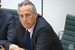 Ian Paisley was present at Westminster's Northern Ireland  Affairs Committee yesterday morning ' but he has not responded to questions about his trips
