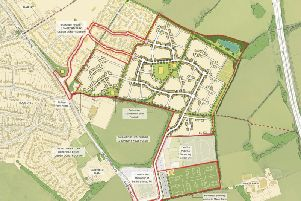 An illustration of how the new development could look. Photo: Hallam Land Management