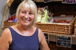 Karen Ayris, outgoing owner of Blooming Fruity in Haddenham