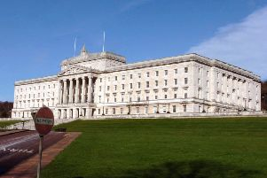 Stormont does not have devolved ministers. Sue Gray, the civil servant at the helm of finance, has signed a political letter to the government over pension reforms
