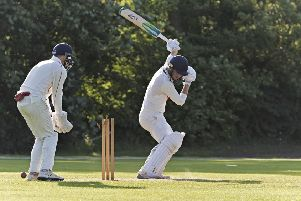 Cambs captain James Williams in action. Photo: Pat Ringham.