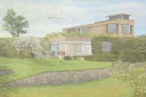 Proposed design of new Ifield home