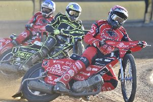 Scott Nicholls in action for Panthers.