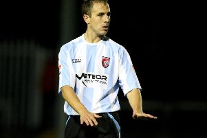 Mark McChrystal has returned to Derry City.