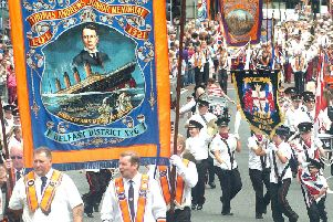 The Twelfth of July celebrations in Northern Ireland.