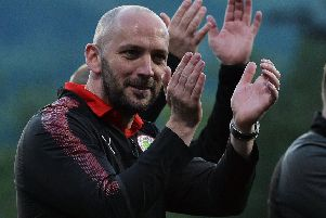 Cliftonville manager Paddy McLaughlin. Pic by Pacemaker.