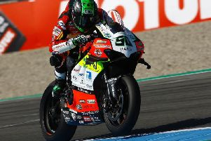 Eugene Laverty has been ruled out of this weekend's World Superbike round at Donington Park after being declared unfit to race.