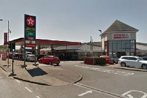 The scene of the incident on Newell Road, Dungannon. (Photo: Google Maps)