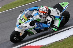 Tim Neave heading in the right direction after his Donington run-out. Picture: Dave Yeomans EMN-190807-152839002