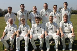 Caistor CC First XI. Picture: Wes Allison EMN-190807-172402002