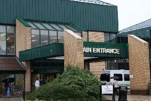 The man died on Saturday following an incident at Antrim Area Hospital