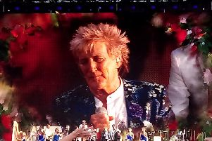 Rod Stewart in Hove