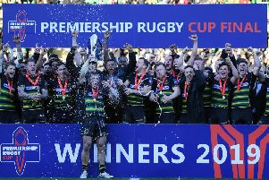 Saints won the Premiership Rugby Cup last season