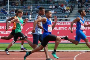 Logan Reid's hopes in the 100m were hampered by a back strain