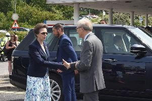 The Princess Royal opens the new MRI Suite at the Conquest Hospital