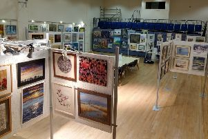 Battle and District Arts Group's exhibition takes place at Battle Memorial Hall