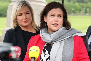 Sinn Fein's leadership has been unusually quiet about its stance on the abortion changes going through Westminster