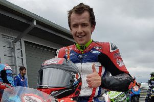 Mikey Large-Taylor enjoyed a positive qualifying session before two frustrating races EMN-190724-171110002