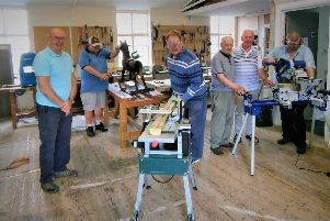 Eglinton Men's Shed members have been awarded funding.