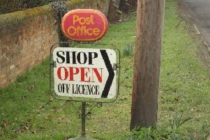 The iconic Swanbourne Post Office sign which has been stolen from the grass verge