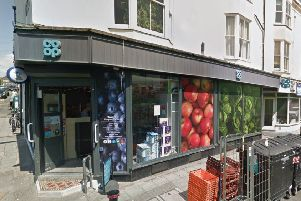 The Kemp Town Co-op store