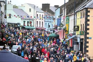 Crowds at a previous Lamms Fair in Ballycastle
