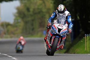 Peter Hickman set the Superbike pace on Wednesday with a lap in excess of 131mph on the Smiths Racing BMW.