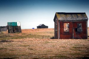 Dungeness is one of the 17 places in Sussex mentioned