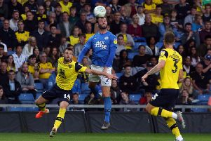 Jason Naismith in action for Posh at Oxford in the first round Carabao Cup tie. Photo: Joe Dent/theposh.com.