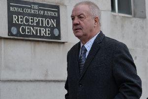Victims campaigner Raymond McCord at Belfast High Court in January 2019.' Photo: Colm Lenaghan/Pacemaker Press