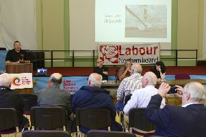 Possible solutions to keep the shipyard open were discussed at the public meeting in the East Belfast Network Centre in Templemore Avenue