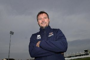 David Ripley is determined to steer Northants to promotion this season