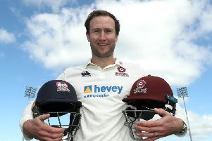 Alex Wakely has a smile on his face at Northants again