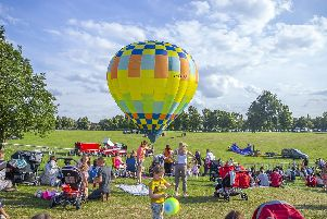 The Northampton Balloon Festival is ready for take off this weekend - if the weather behaves itself...