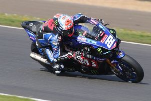 O'Halloran is 10th in the British Superbike standings as the championship heads to Oulton Park EMN-190819-110546002