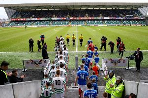 Lurgan Celtic reached the semi-finals of the Irish Cup in 2016, when they were beaten by Linfield.