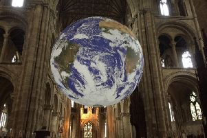 Gaia at Peterborough Cathedral